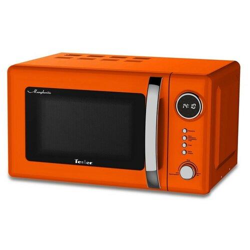 Микроволновая печь TESLER ME-2055 ORANGE,20л,700Вт,тип упр-электр,оранжевый