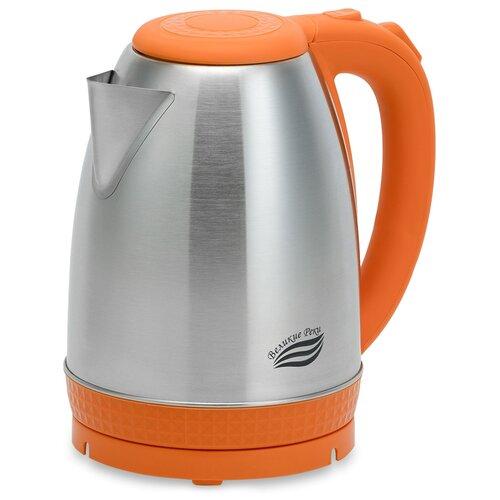 Чайник Великие реки Амур-1, оранжевый