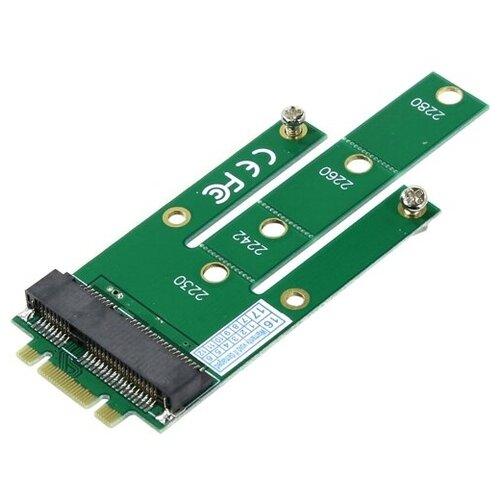 Переходник SSD Orient C293S NGFF M.2 - mSATA для подключения mSATA диска к разъему NGFF
