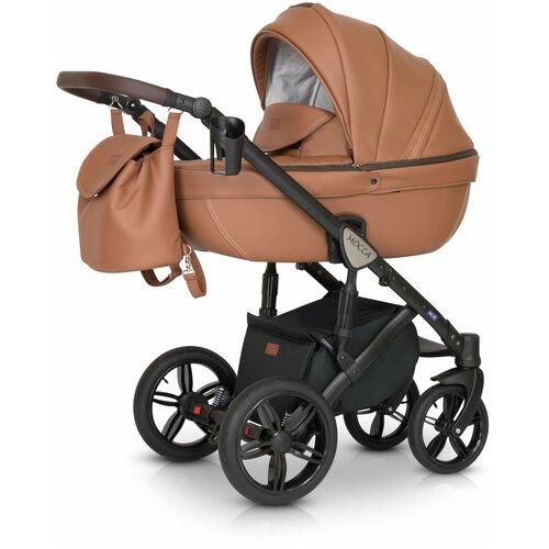 Детская коляска 3 в 1 Verdi Mocca кремовая коляски 3 в 1 verdi laser 3 в 1