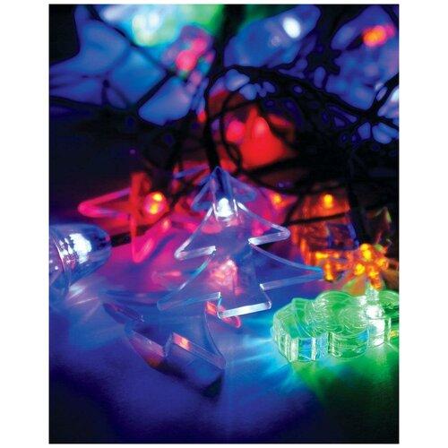 Электрогирлянда космос Елочные игрушки