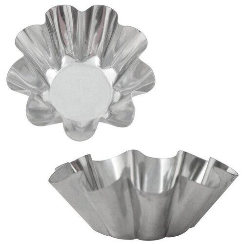 Набор форм для выпечки Цветок 6шт D=6,5см,H=2см (DA8-151) 2 шт.