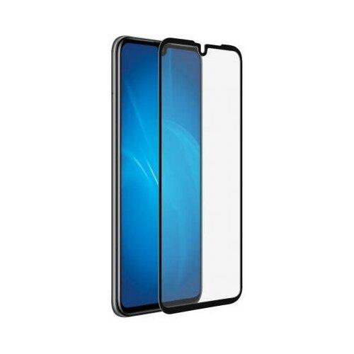 DF Закаленное стекло 3D с цветной рамкой (fullscreen) для Huawei P30 DF hwColor-99 (black) закаленное стекло df для huawei p30 pro 3d full screen black hwcolor 94
