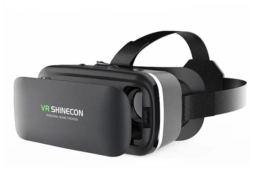 VR очки для телефона Skiico / Вр очки для телефона с экраном 4,7- 6,0 дюйма цвет Черный