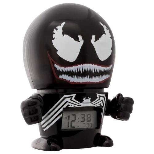 Часы настольные BulbBotz Venom черный