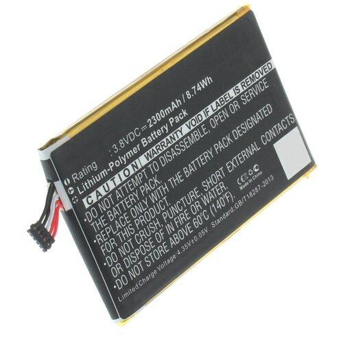 Аккумуляторная батарея iBatt 2300mAh для UP140008