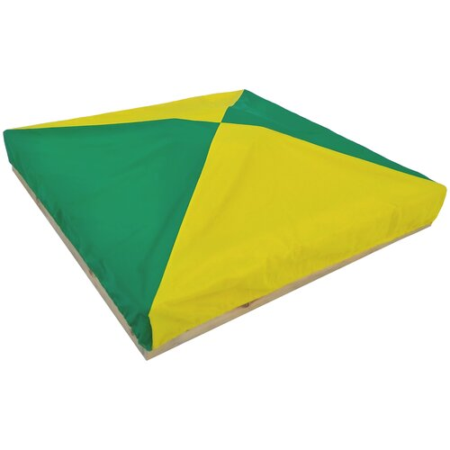 Защитный чехол для песочницы, бриз ПК, 200*200*15 см, желто-зеленый