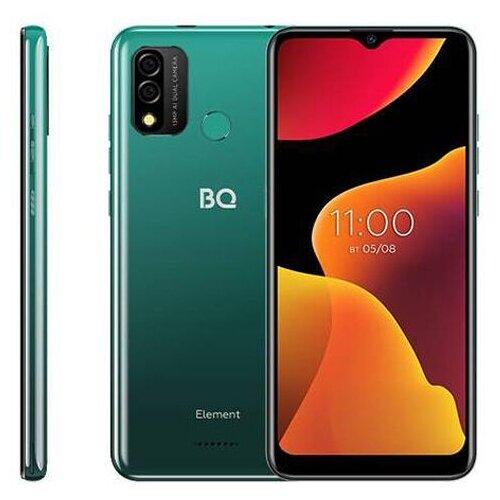 Сотовый телефон BQ 6645L Element Deep Green сотовый телефон bq 3590 step xxl black green