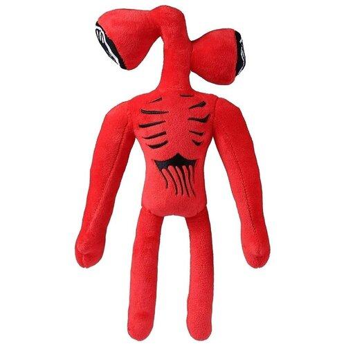 Мягкая игрушка сиреноголовый, Siren Head, красный, 38 см