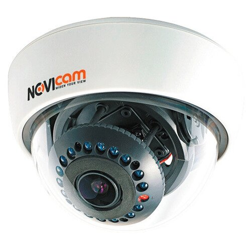 AHD видеокамера NOVIcam AC17, 720р F2.8-12 купольная внутренняя , ИК,мегапиксельный вариообъектив