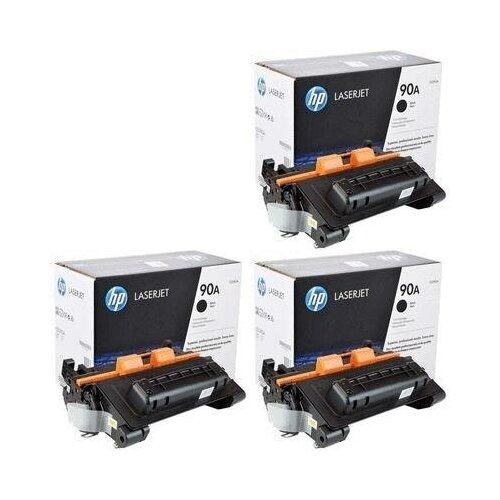 HP CE390A-3PK Картриджи комплектом 90A черный 3 упаковки [выгода 3%] Black 30К для LaserJet 600 M601dn M601, M601n, M602dn M602, M602n, M602x, M603dn M603, M603n, M603xh, M4555, M4555f, M4555fskm, M4555h