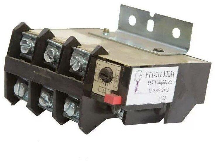 Реле электротепловое токовое РТТ-211 УХЛ4 25.0А (РТТ-211 25А 21,2..28,7А) — купить по выгодной цене на Яндекс.Маркете