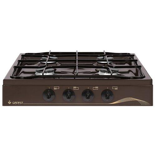 Настольные газовые плиты GEFEST 900 K 17, коричневый