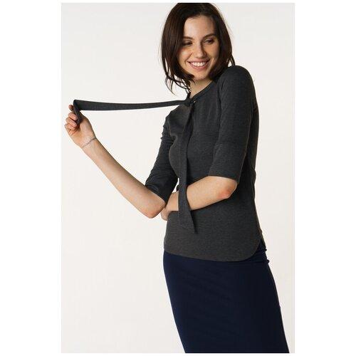 Блуза adL, размер 42/S, серый