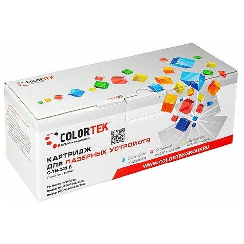 Фото - Картридж Colortek CT-TN-241K черный для принтеров Brother картридж colortek ct tn 2080 для принтеров brother
