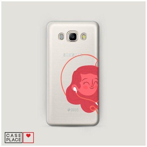 Чехол Пластиковый Samsung Galaxy J5 2016 Музыка для влюбленных 1