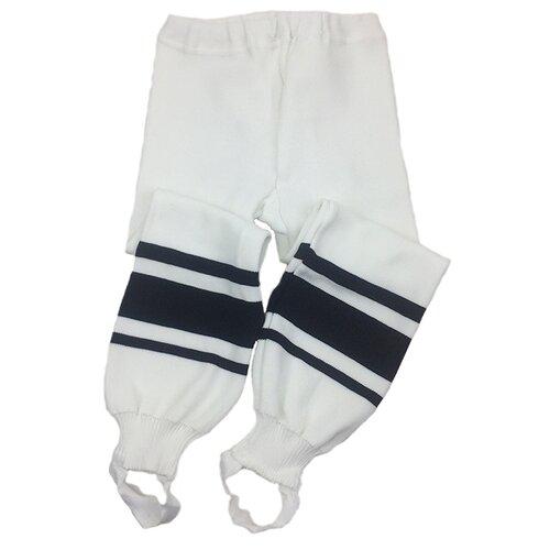 Фото - Спортивные брюки LECOMPRO размер 122-128, белый/черный спортивные брюки stone island размер 8 128 голубой