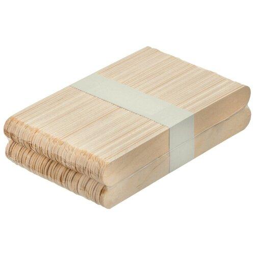 Купить IRISK PROFESSIONAL Irisk, шпатели деревянные (140х18х1, 8 мм), 100 шт