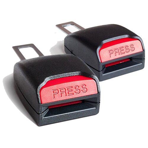 Заглушки для ремней безопасности автомобиля с гнездом (Пара 2 шт.) AVS BS-003; A40093S