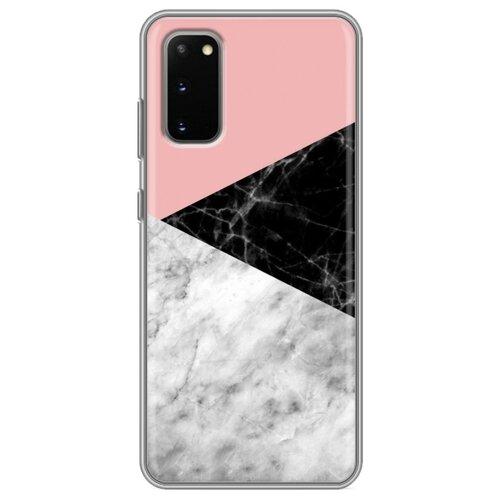 Дизайнерский силиконовый чехол для Samsung Galaxy S20 Мраморные тренды
