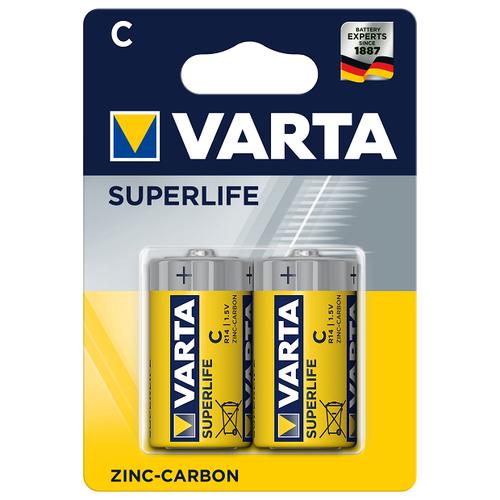 Фото - Батарейка VARTA SUPERLIFE C/LR14 бл 2 батарейка varta energy d lr20 бл 2