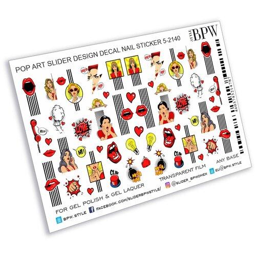 Купить BPW.Style, слайдер-дизайн (Pop Art, sd5-2140), BPW style