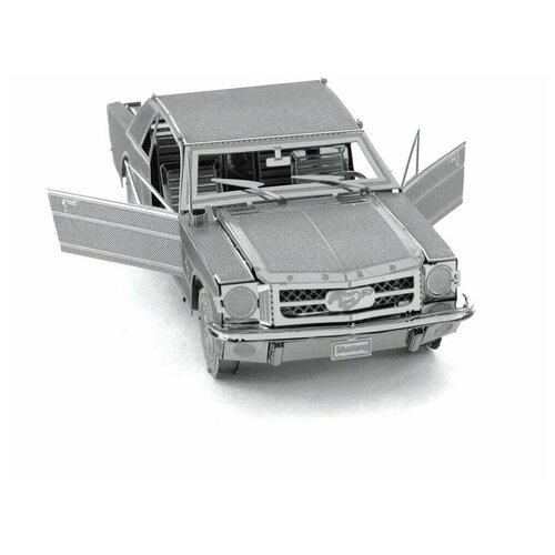 Купить Металлический 3D конструктор машина Форд Мустанг 1965 (Ford Mustang Metal Earth), Fascinations, Сборные модели