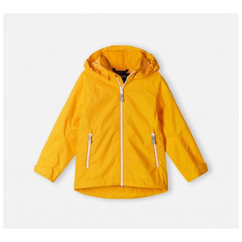 Куртка Reima размер 122, желтый брюки reima voyage 532083 размер 122 9990 черный