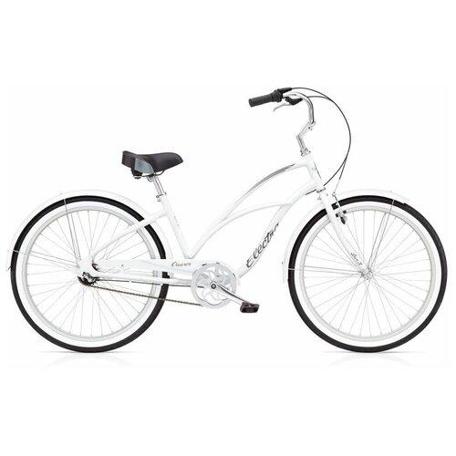 Велосипед городской Electra Cruiser Lux 3i White(В собранном виде)