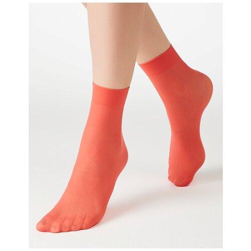Капроновые носки MiNiMi Micro Colors 50 3D, размер 0 (one size), corallo