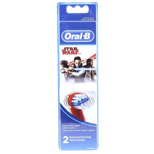 Сменные насадки Braun Oral-B Stages Power EB10K / EB10-2 Kid