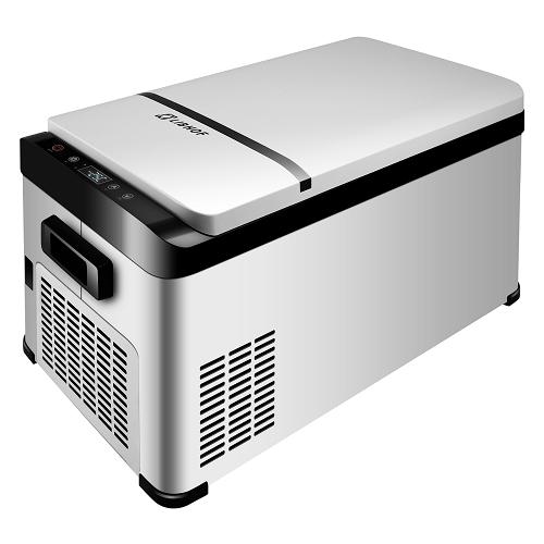 Компрессорный автохолодильник LIBHOF K-20 19л (-25/+20°C, 12/24/220В)