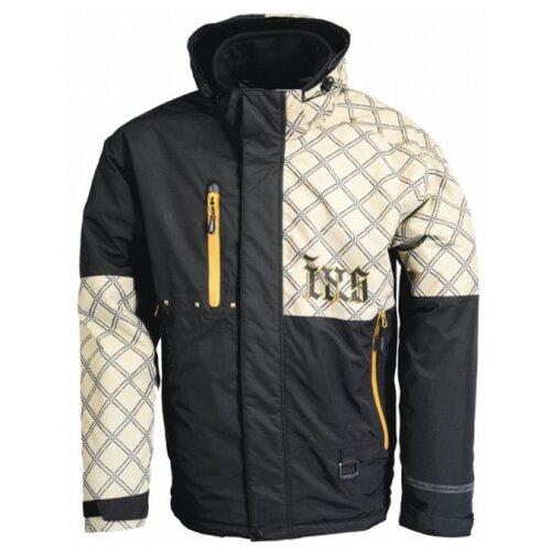 Текстильная куртка IXS Square черный/коричневый L (Размер производителя)