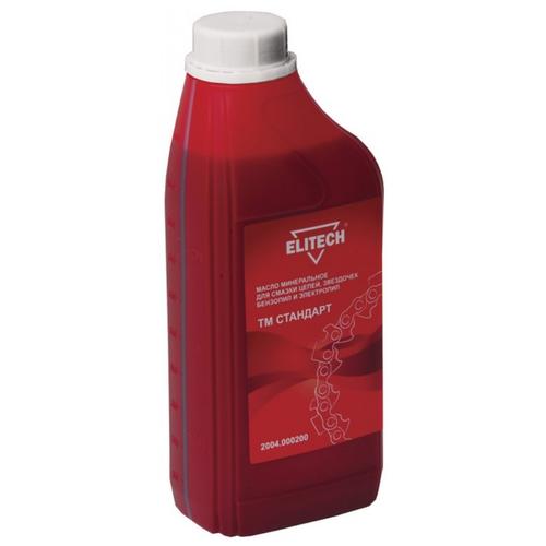 Масло для смазки цепи ELITECH ТМ Стандарт 2004.000200 1 л