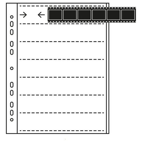 Файл для хранения MACO для фотопленки 35 мм, 100 шт.