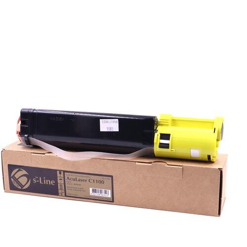Фото - Тонер-картридж булат s-Line S050187 для Epson AcuLaser C1100, CX11 (Жёлтый, 4000 стр.) картридж лазерный cactus cs eps188 пурпурный 4000стр для epson aculaser c1100 c1100n cx11 cx11n cx11nf cx11nfc