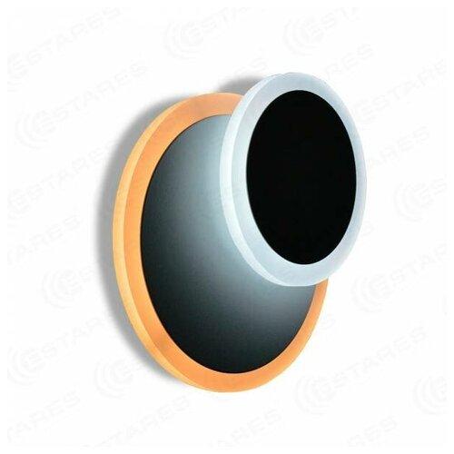 Светодиодный светильник, бра Geometria round 12W R-185-WHITE-220-IP44 управляемый светодиодный светильник estares saturn 25w rgb r 328 shiny white 220 ip44 2019