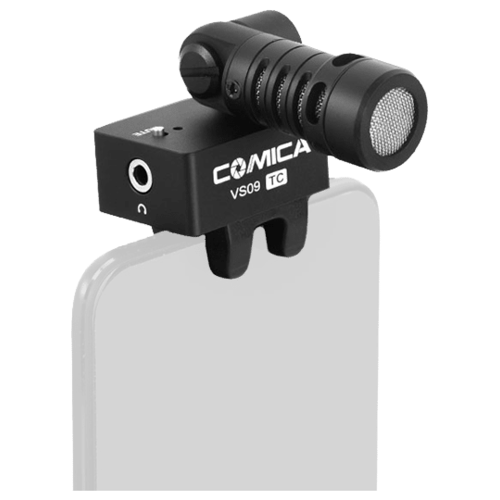 Микрофон для смартфона Comica CVM-VS09 TC Type-C