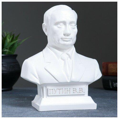 Хорошие сувениры Бюст Путин белый 19см