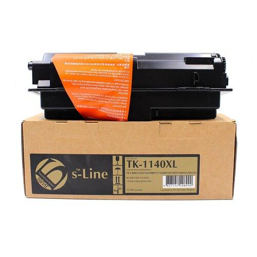 Фото - Тонер-картридж булат s-Line TK-1140XL для Kyocera FS-1035MFP (Чёрный, 12500 стр.) тонер картридж булат s line tk 475 для kyocera fs 6025mfp чёрный 15000 стр