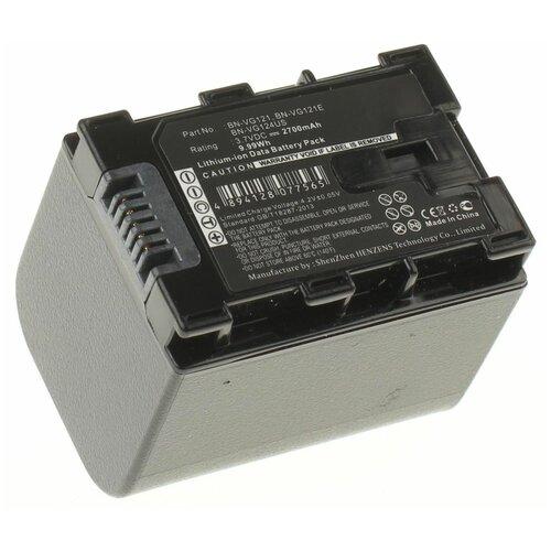 Аккумуляторная батарея iBatt 2700mAh для Jvc GZ-HM550BEU, GZ-HM430, GZ-E245, GZ-HM435, GZ-HD520, для JVC GZ-HM430SE, для Jvc GZ-HM445, для JVC GZ-HM845BE