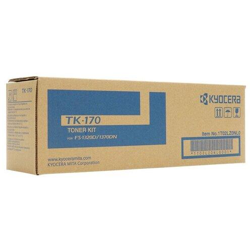 Фото - Лазерный картридж Kyocera 1T02LZ0NL0 (TK-170) Black картридж лазерный kyocera tk 160