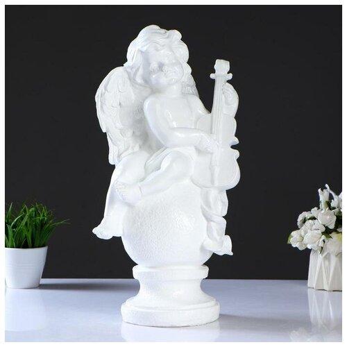 Фигура Ангел со скрипкой фигура малышка ангел белая 25х12х12см 4786376