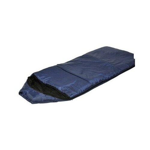 Спальный мешок Сталкер Богатырь синий с кап. + моск.сетка