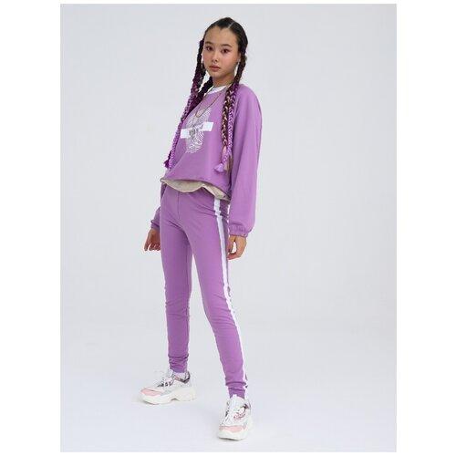 Спортивный костюм Nota Bene размер 116, фиолетовый