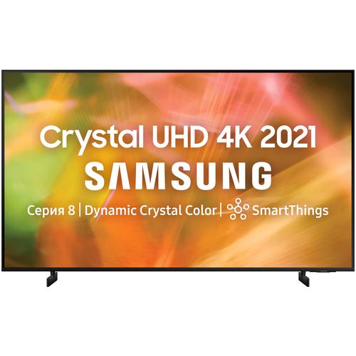 Фото - Телевизор Samsung UE55AU8000U 54.6 (2021), черный телевизор samsung ue50au7100u 49 5 2021 черный