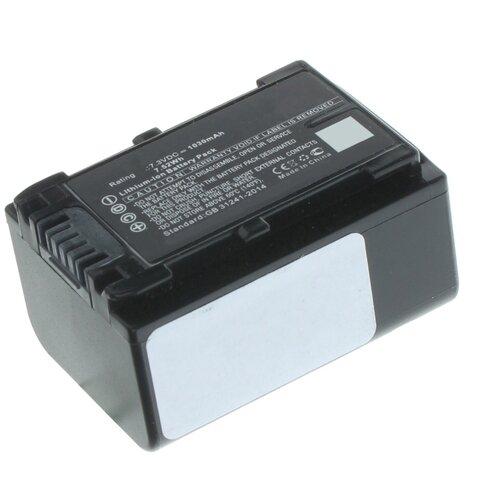 Аккумуляторная батарея iBatt 1030mAh для Sony FDR-AX700, FDR-AX53, HDR-CX625, FDR-AX33, HDR-CX450, HDR-PJ620, FDR-AX60, FDR-AXP33, FDR-AX45, HDR-CX680