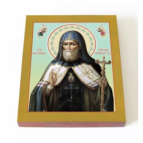 Святитель Митрофан, епископ Воронежский, икона на доске 13*16,5 см