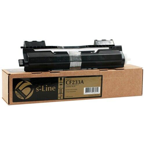 Фото - Тонер-картридж булат s-Line CF233A для HP LJ M106, LJ M134 (Чёрный, 2300 стр.) тонер картридж 33a laserjet cf233a