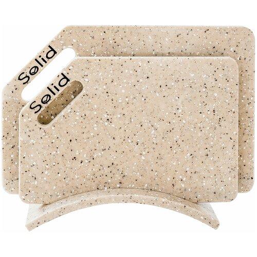 Разделочные доски Solid, набор Айскрим набор 4 гибкие разделочные доски stoneline